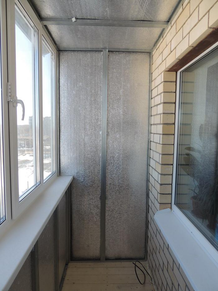 Утепление балкона.